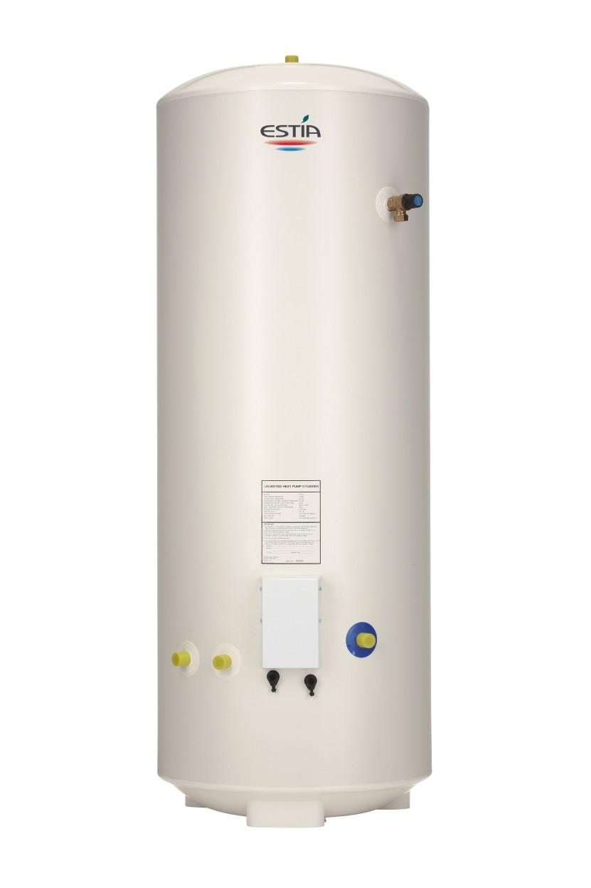 Pompa ciepła Split - zasobnik ciepłej wody